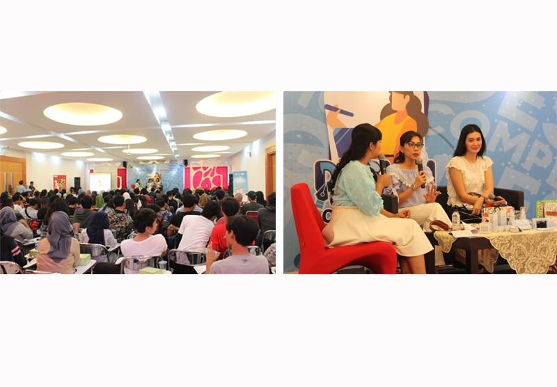 """Talkshow """"Berbagi Inspirasi Mahasiwa di Bidang Desain"""""""