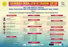 Seminar Nasional Industri Kreatif Informatika, Teknologi dan Humaniora II 2018 (SEMNAS-IKRAITH II 2018)
