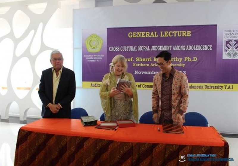 """GENERAL LECTURE - """"Cultural Moral Judgement Among Adolescence"""""""